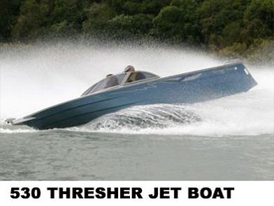 530 thresher jet boat